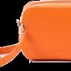 Designer Handbags - Saffiano Orange
